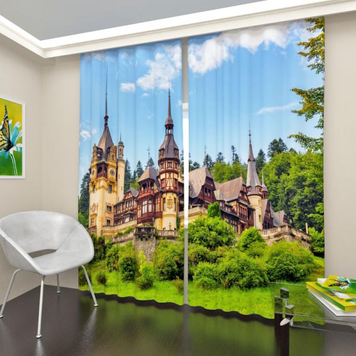 Фотошторы «Румынский замок»