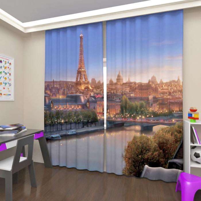 Фотошторы «Сказочный Париж»