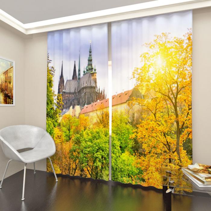 Фотошторы «Собор в Праге»