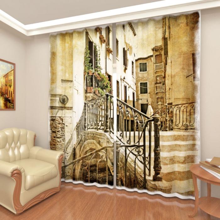 Фотошторы «Старая Венеция 1»