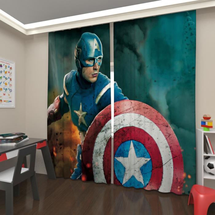 Фотошторы «Супер герой 3»