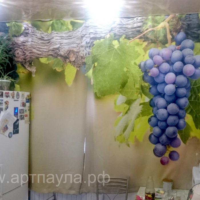 Фотошторы «Виноградная ветвь»