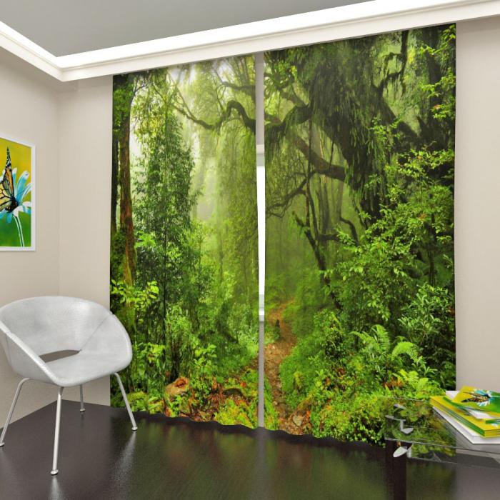 Фотошторы «Таинственный лес 2»