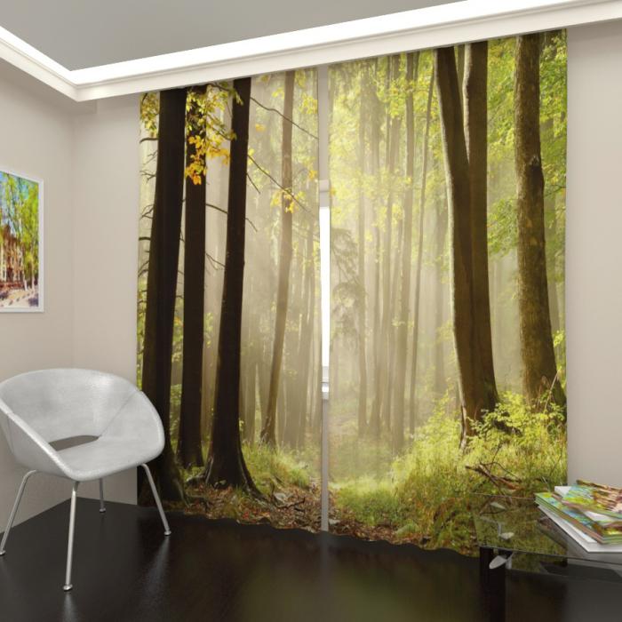 Фотошторы «Таинственный лес 3»