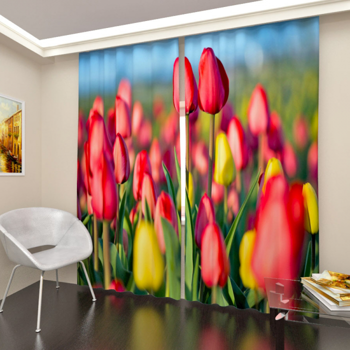 Фотошторы «Тюльпаны 3»