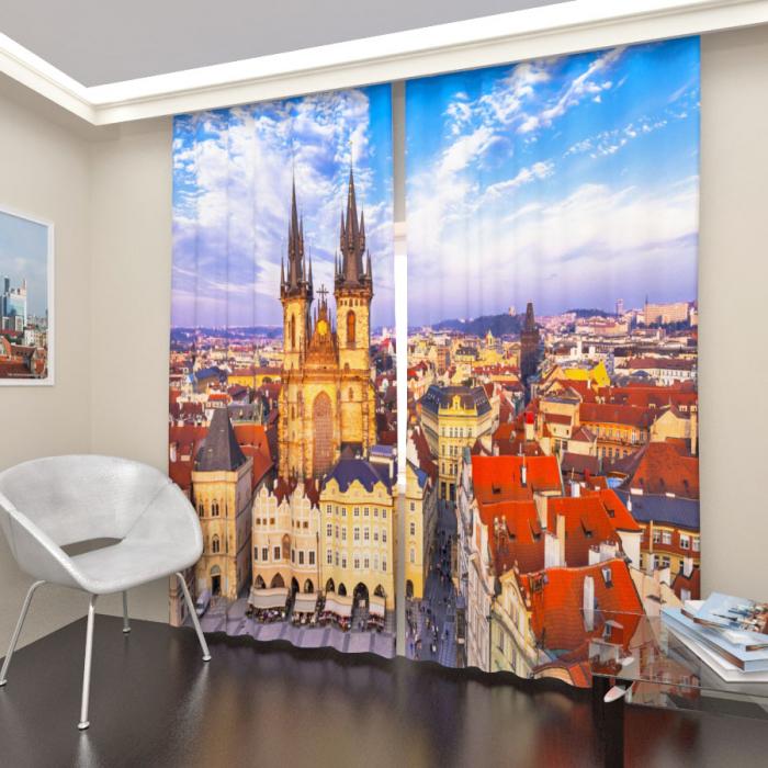Фотошторы «Вечерняя Прага»