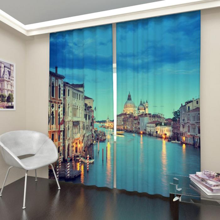 Фотошторы «Вечерняя Венеция 2»