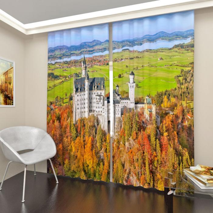 Фотошторы «Замок в Баварии»